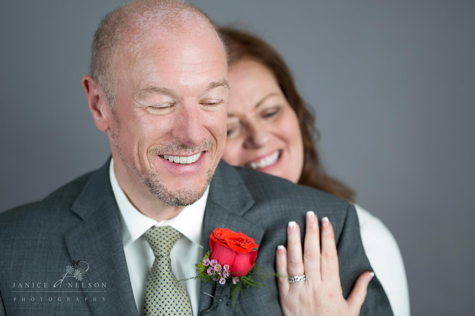 In-studio wedding